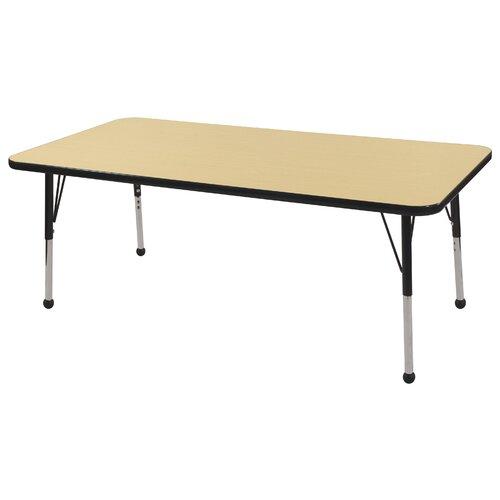 "ECR4kids 60"" x 24"" Rectangular Classroom Table"