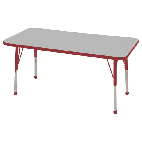 "ECR4kids 48"" x 24"" Rectangular Classroom Table"