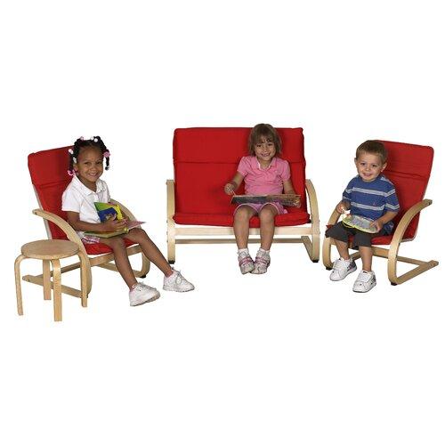 ECR4kids Kids 4 Piece Table & Chair Set