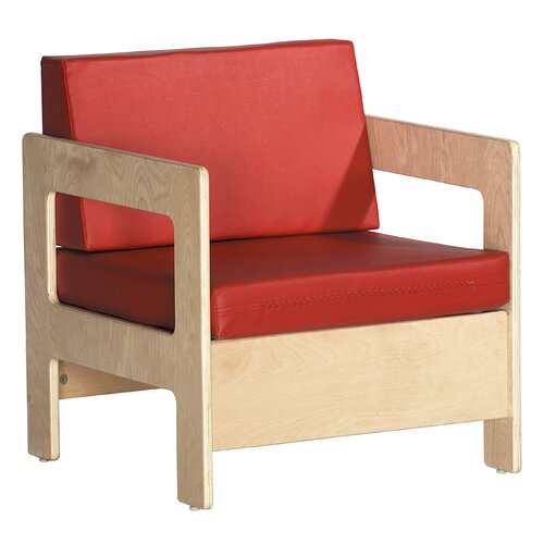 ECR4kids Living Room Set - Birch Chair