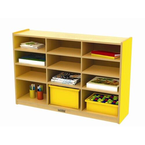 ECR4kids Colorful Essentials™ Multi-Purpose Cabinet 12 Compartment Cubby
