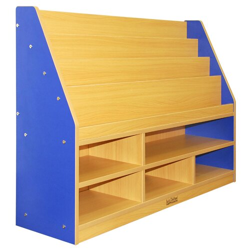 ECR4kids Colorful Essentials™ Book Display with 6 Compartment Storage