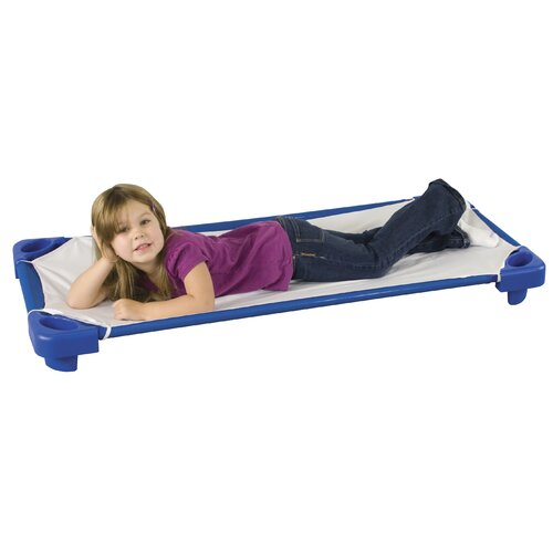 ECR4kids Single Toddler Cot (Assembled)