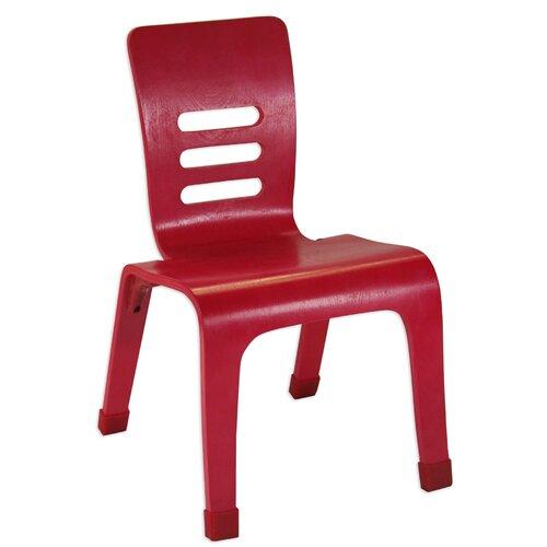 """ECR4kids 12"""" Bentwood Classroom Stackable Chair"""