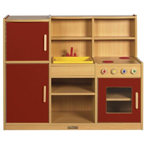 ECR4kids 4-in-1 Play Kitchen