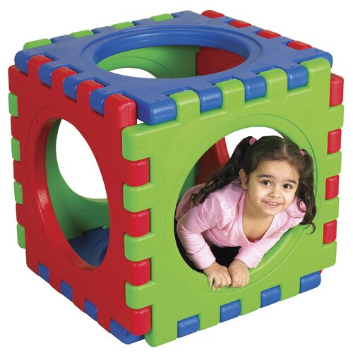 ECR4kids 6 Pieces Tunnel and Cube Set