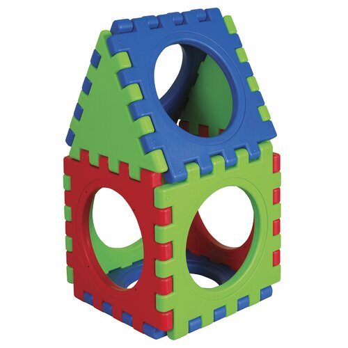 ECR4kids 9 Pieces Tunnel and Cube Set