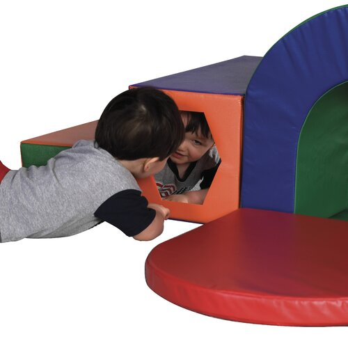 ECR4kids Slide and Crawl Softzone Set