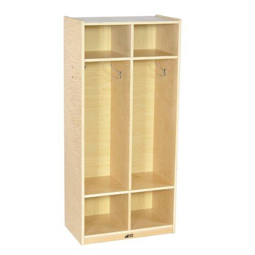ECR4kids 2-Section Straight Locker