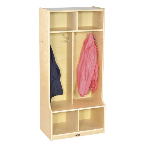 ECR4kids 2-Section Locker