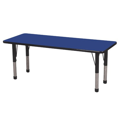 "ECR4kids 60"" x 24"" Rectangular Classroom Table"