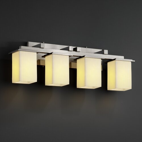 Justice Design Group CandleAria Montana 4 Light Bath Vanity Light