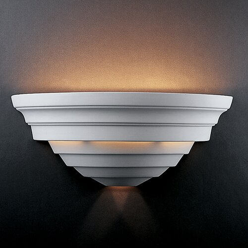 Justice Design Group Ambiance Big Supreme 2 Light Wall Sconce
