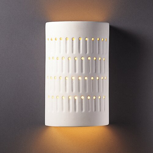 Justice Design Group Ambiance Cactus 1 Light Outdoor Wall Sconce