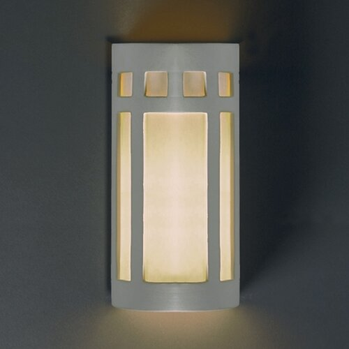 Justice Design Group Ambiance Big Prairie 2 Light Outdoor Wall Sconce