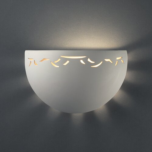 Half Circle Wall Lights : Quoizel Monterey Mosaic 2 Light Pocket Wall Sconce & Reviews Wayfair