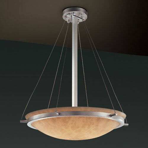 Justice Design Group Clouds 6 Light Inverted Pendant