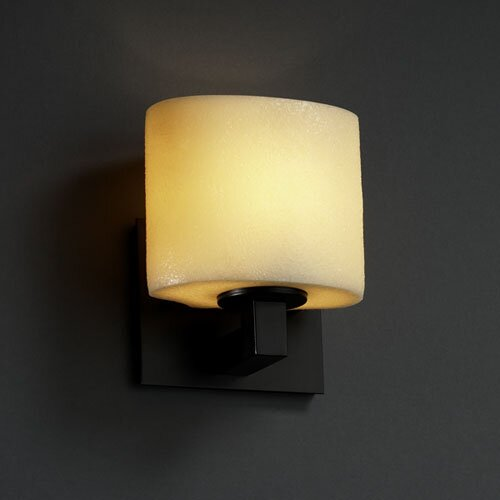Justice Design Group CandleAria Modular 1 Light ADA Wall Sconce