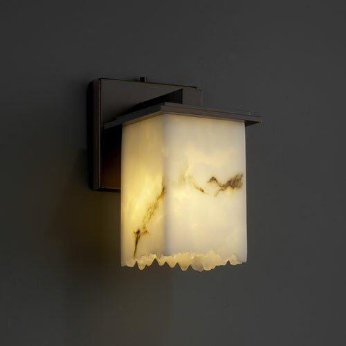 Justice Design Group LumenAria Montana 1 Light Wall Sconce