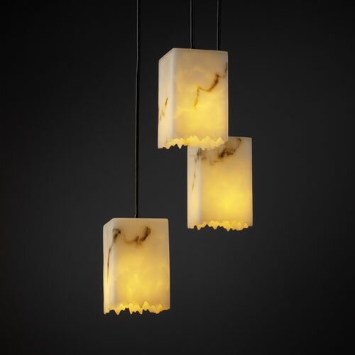 Justice Design Group LumenAria 3 Light Pendant