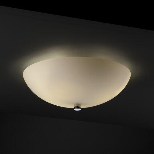 Justice Design Group Fusion 2 Light Flush Mount