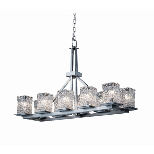 Montana Veneto Luce 10 Light Rectangular Chandelier