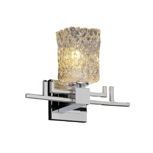Justice Design Group Aero Veneto Luce 1 Light Wall Sconce