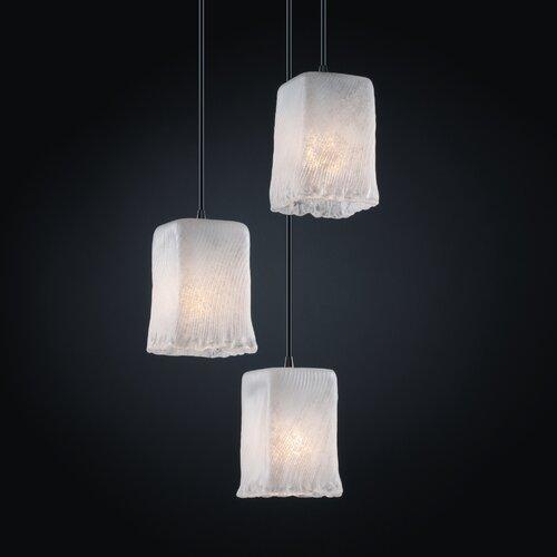 Veneto Luce 3 Light Pendant