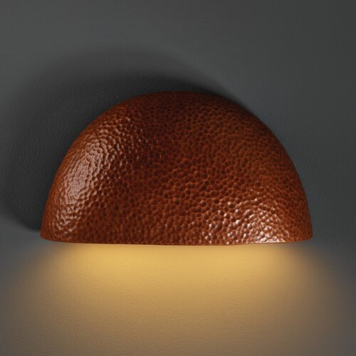 Justice Design Group Ambiance Pocket 2 Light Outdoor Wall Sconce