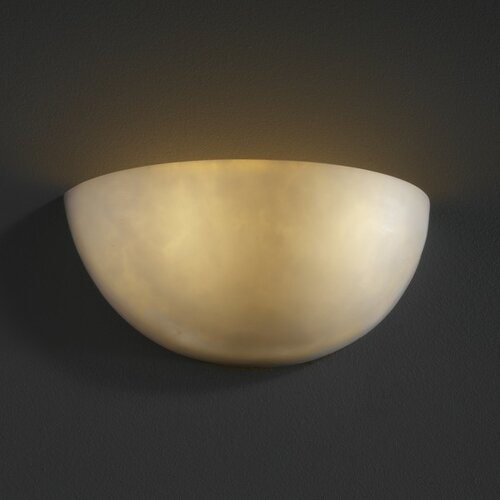 Justice Design Group Clouds 2 Light Wall Sconce