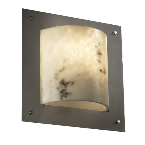 Justice Design Group LumenAria Framed 1 Light ADA Wall Sconce