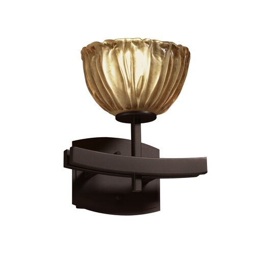 Justice Design Group Veneto Luce Archway 1 Light Wall Sconce