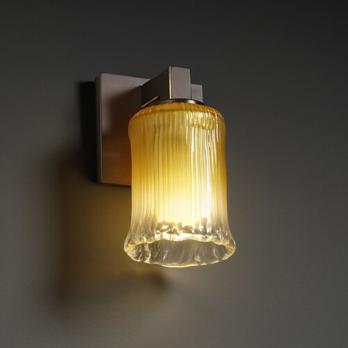 Justice Design Group Veneto Luce Modular 1 Light Wall Sconce