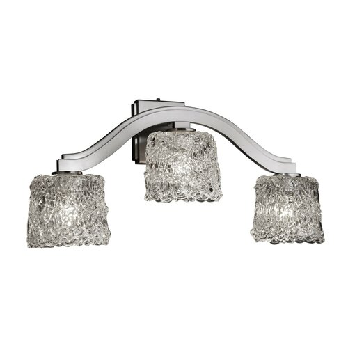 Justice Design Group Veneto Luce Bend 3 Light Wall Sconce