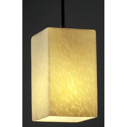Justice Design Group Fusion 1 Light Pendant