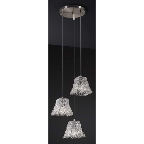 Veneto Luce Mini 3 Light Cluster Pendant
