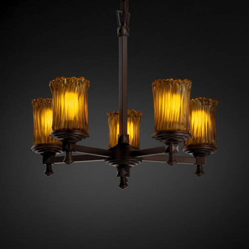 Deco Veneto Luce 5 Light Chandelier
