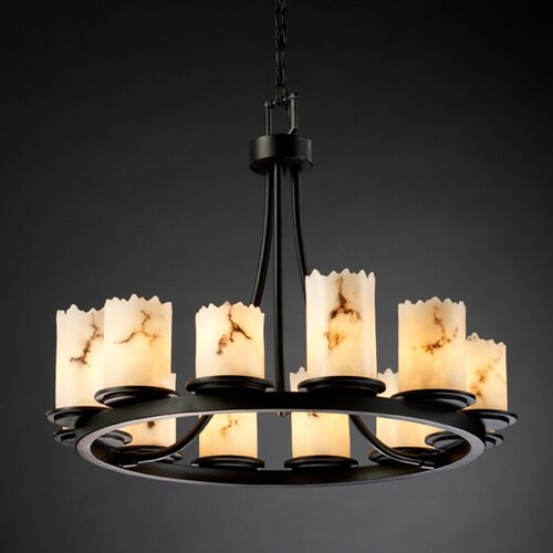 Justice Design Group LumenAria Dakota 12 Light Chandelier