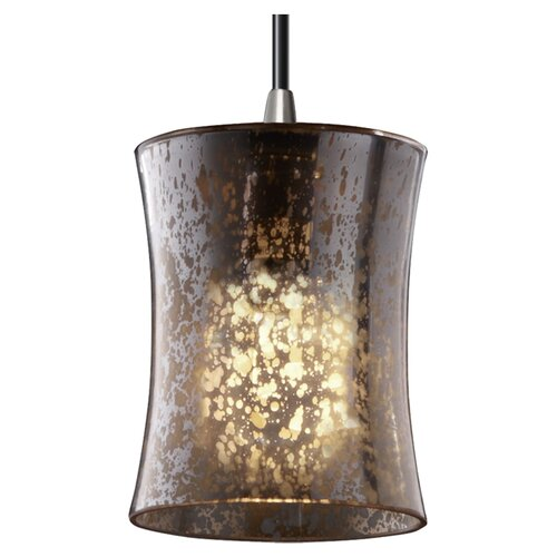 Justice Design Group Fusion Mini 1 Light Pendant