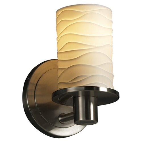 Justice Design Group Limoges Rondo 1 Light Wall Sconce