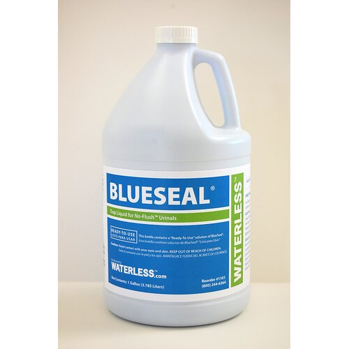 Waterless Blueseal Urinal Trap Seal Liquid - 1 Gallon