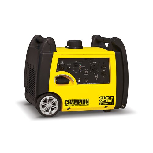 Champion Power Equipment 3100W Gas Inverter Generator