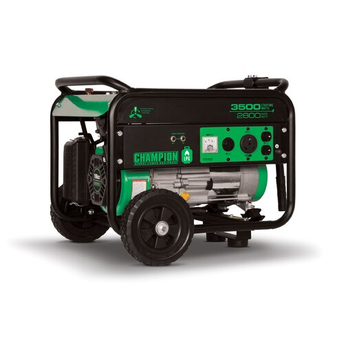 Portable 3,500 Watt Liquid Propane Generator