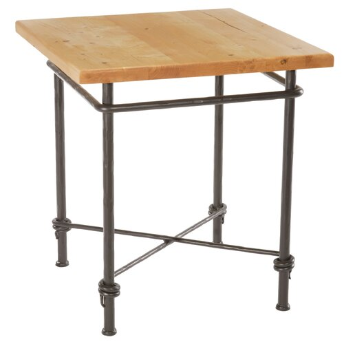 Stone County Ironworks Ranch End Table