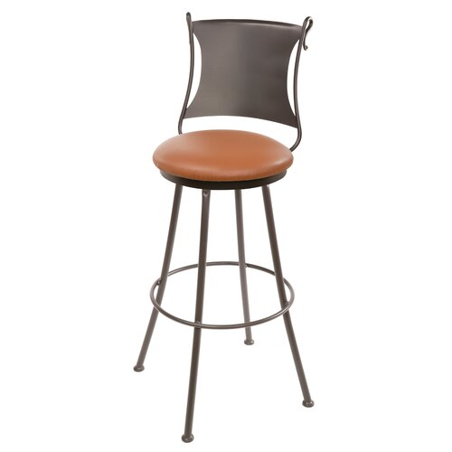 "Stone County Ironworks Standard 25"" Swivel Bar Stool"