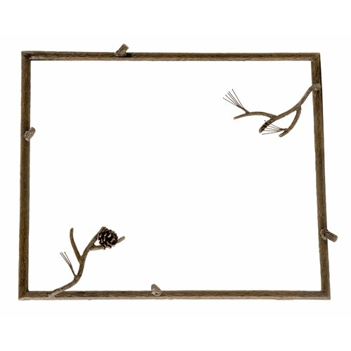 Stone County Ironworks  Pine Small Wall Mirror
