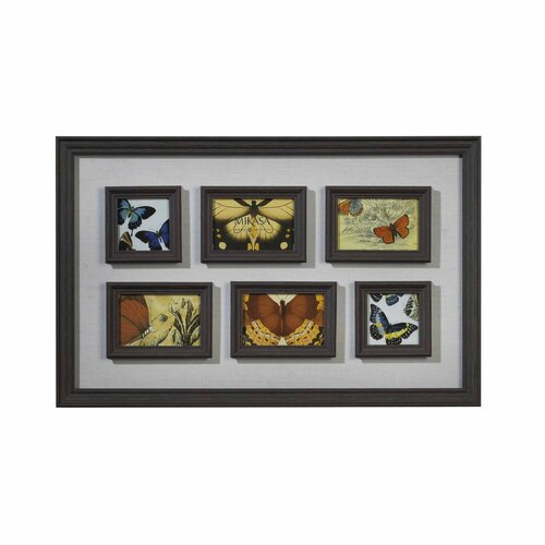 6 Opening French Country Collage Picture Frame