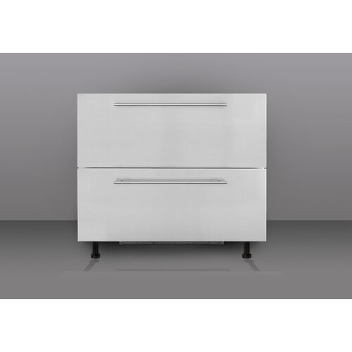 "Summit Appliance 35.5"" Built-In Drawer Refrigerator"