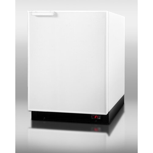 6.1 Cu. Ft. Built-In Compact Refrigerator with freezer