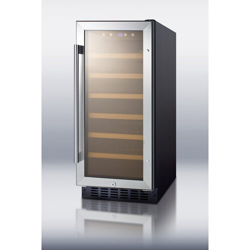 21 Bottle Single Zone Thermoelectric Wine Refrigerator